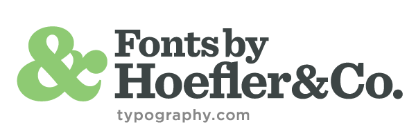 For 25 years, Hoefler & Co. has helped the world's foremost publications, corporations, and institutions develop unique voices through typography.